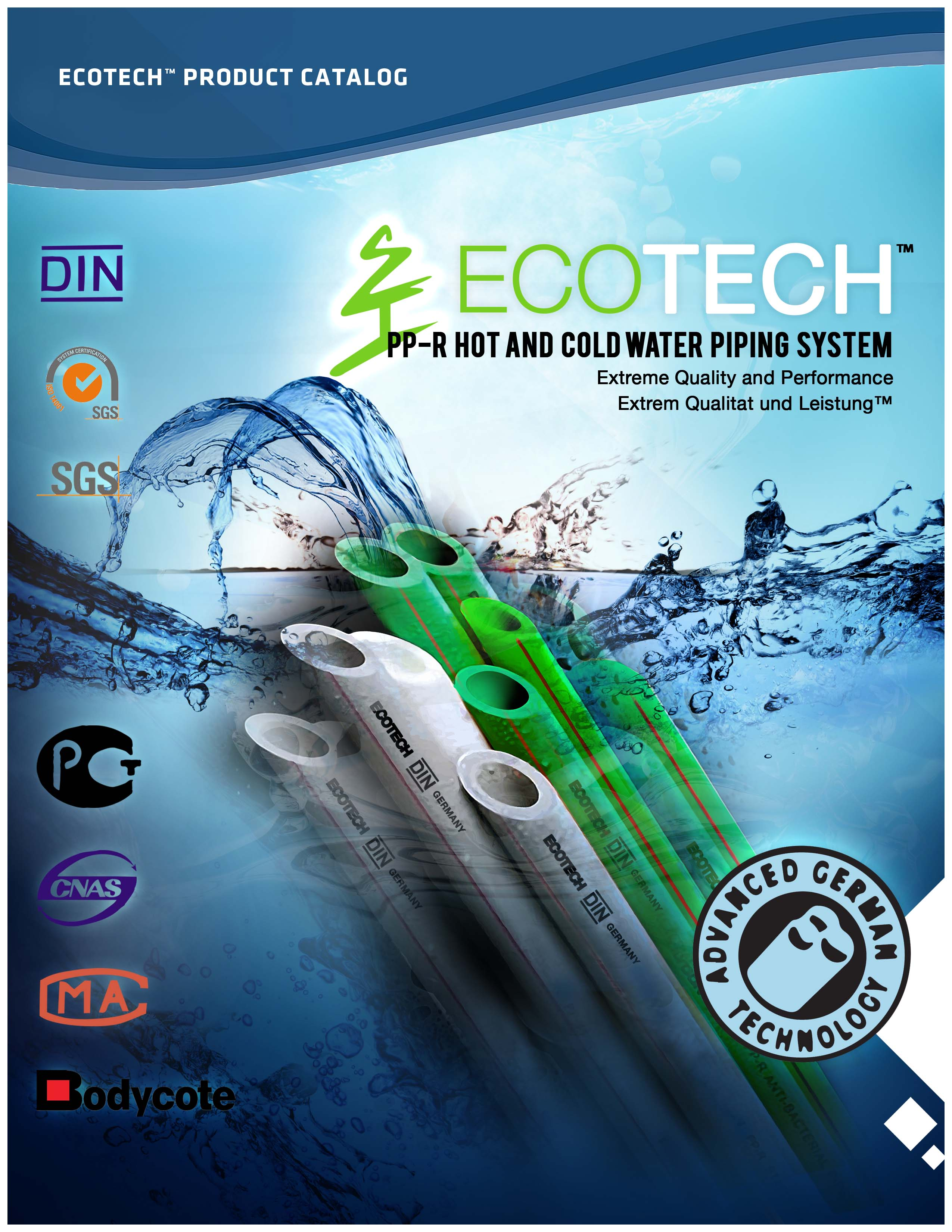 Ecotech Ppr Pipes 171 Techglobal Incorporated